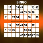 Free Bingo No Deposit No Card Details in Woodlands 12