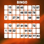 Free Bingo Signup Welcome Offer in Ashford Carbonell 6