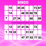 Free Bingo Signup Welcome Offer in Allington Bar 6