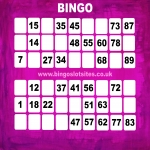 Free Bingo No Deposit No Card Details in Woodlands 10