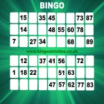 Free Bingo Signup Welcome Offer in Allington Bar 8