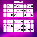 Free Bingo Signup Welcome Offer in East Lyng 10