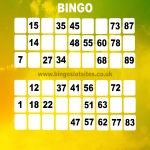 Free Bingo No Deposit No Card Details in Dundonald 1