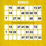 No Deposit Bingo Sites in Kingsbury 12