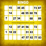 Latest Bingo Slots Websites in New Row 7