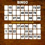 Free Bingo Signup Welcome Offer in Acol 8