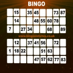Free Bingo Signup Welcome Offer in Aberfeldy 9