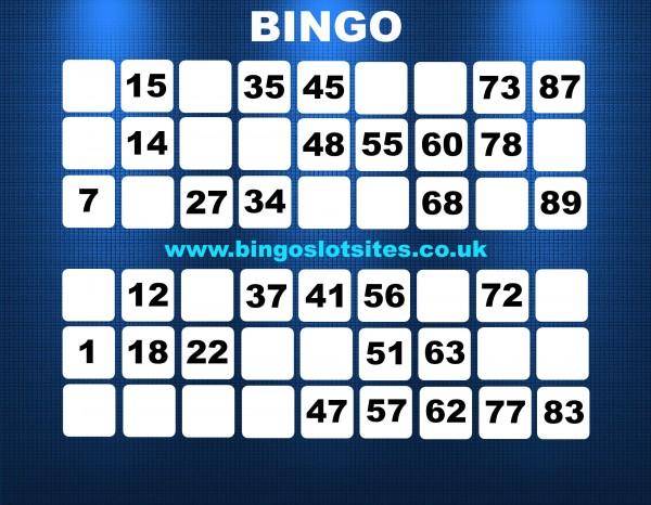 No Deposit Free Bingo Win Real Cash
