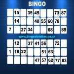 Free Bingo Signup Welcome Offer in Alwinton 11