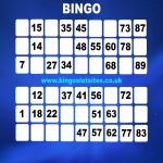Free Bingo Signup Welcome Offer in Drumelzier 9