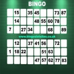 Free Bingo Signup Welcome Offer in Allington Bar 4