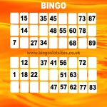 Free Bingo Signup Welcome Offer in Bretton 9