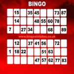 Free Bingo Signup Welcome Offer in Alderton 5