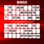 Free Bingo Signup Welcome Offer in Back Rogerton 12